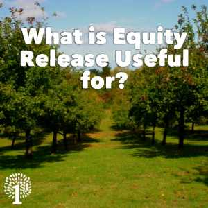 What is equity release useful for?