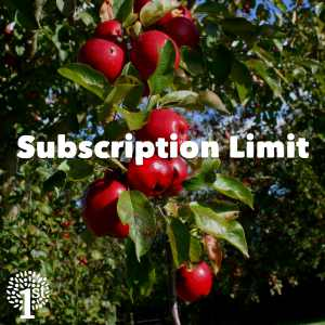 Subscription Limit
